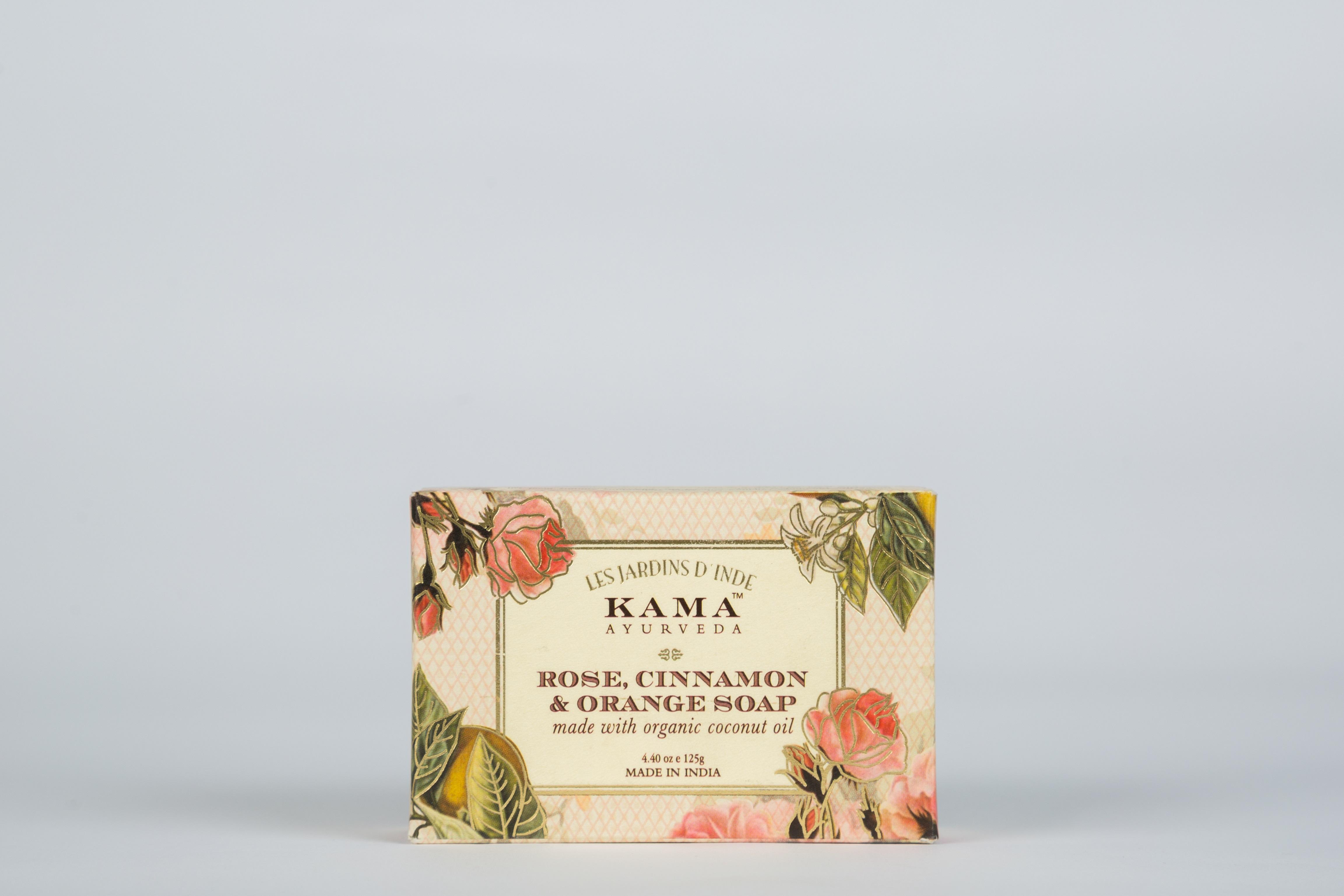 Rose, Cinnamon & Orange Soap (125 Gms) By Chosen Goods.