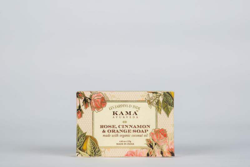 Buy ROSE, CINNAMON & ORANGE SOAP (125 GMS) Singapore