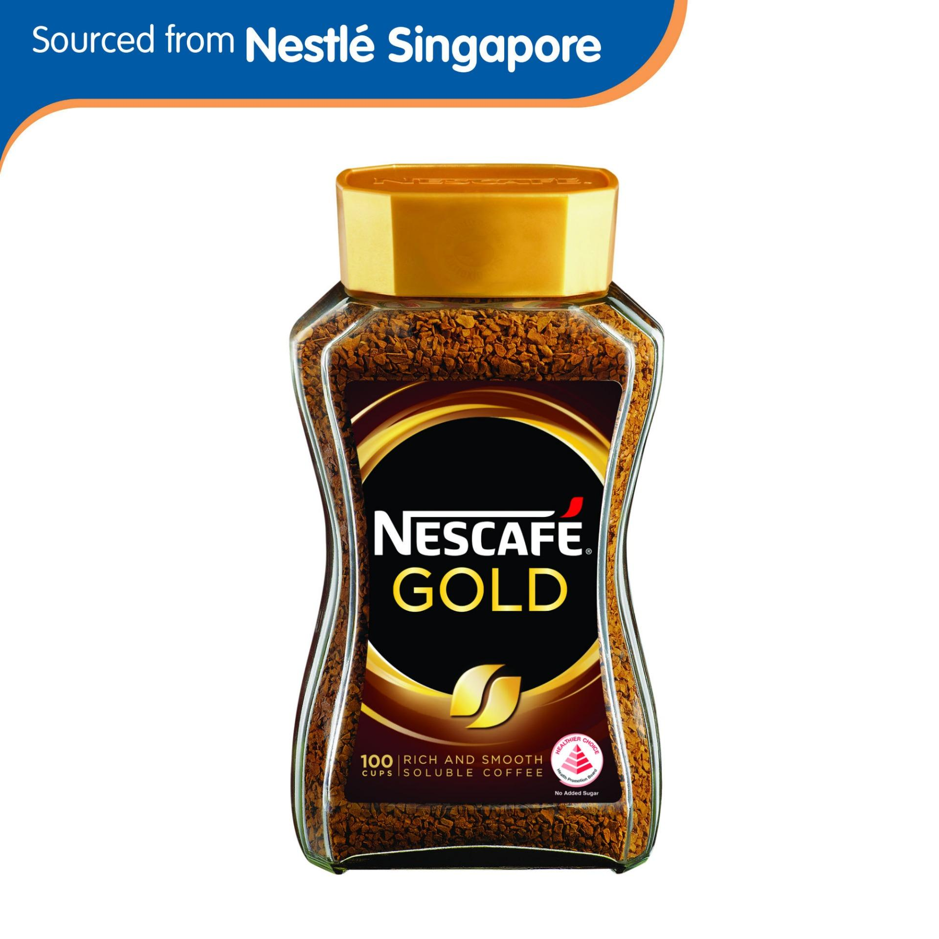 Nescafe Gold Blend Instant Soluble Coffee 200g By Nestle Official Store.