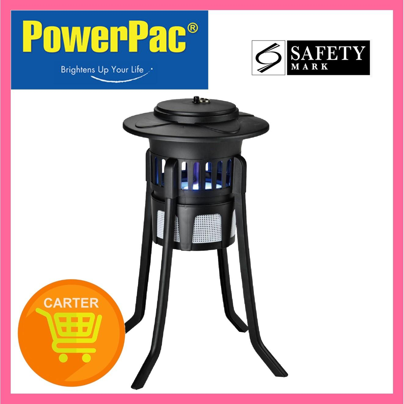 PowerPac Mosquito Power Strike with 2 Suction Fans & Floor Stand (PP2216)