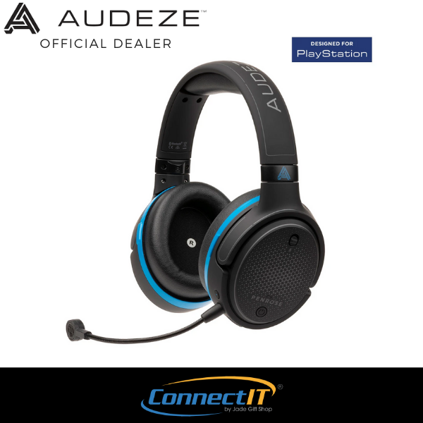 (PRE-ORDER} Audeze Penrose Low-Latency Wireless Planar Magnetic Gaming Headset FOR PS4/PS5/PC With 1 Year Local Warranty