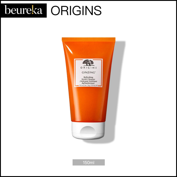 Buy Origins Ginzing Refreshing Scrub Cleanser 150ml - Beureka [Luxury Beauty (Skincare) – Cleansers / Facial Wash / Face Wash  Brand New  100% Authentic] Singapore