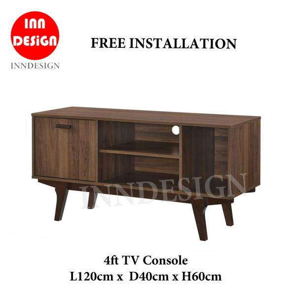 Edda 4ft TV Console / TV Cabinet (Free Installation and Delivery)