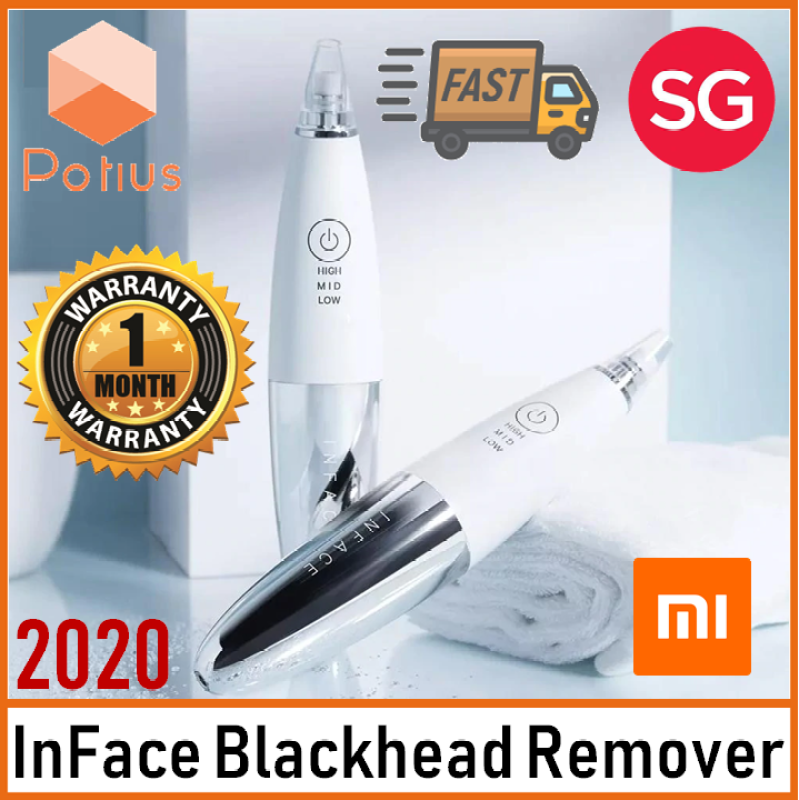 Buy Xiaomi InFace Blackhead Remover MS7000 Unisex.Rechargeable. Interchangeable Heads. Deep Cleansing Instrument. New Ergonomic Design Singapore