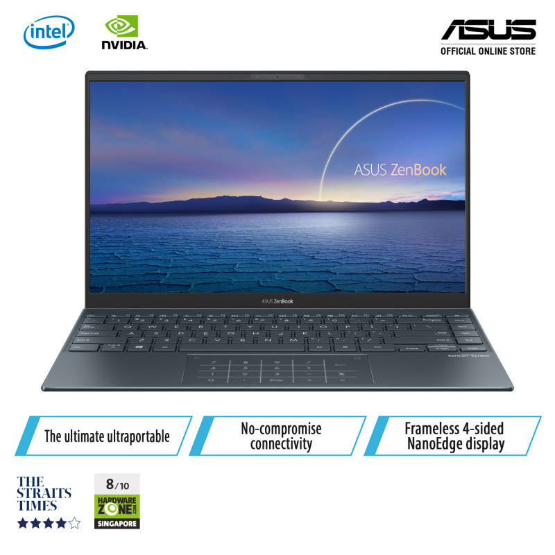 ASUS  UX425EA-KI419T/ 14.0LED Backlit/ FHD (1920 x 1080) 16/Intel® Core™ i5-1135G7 / 8GB LPDDR4X on board/512GB M.2 NVM