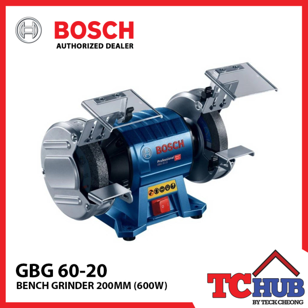 Bosch GBG 60-20 Double-Wheeled Bench Grinder