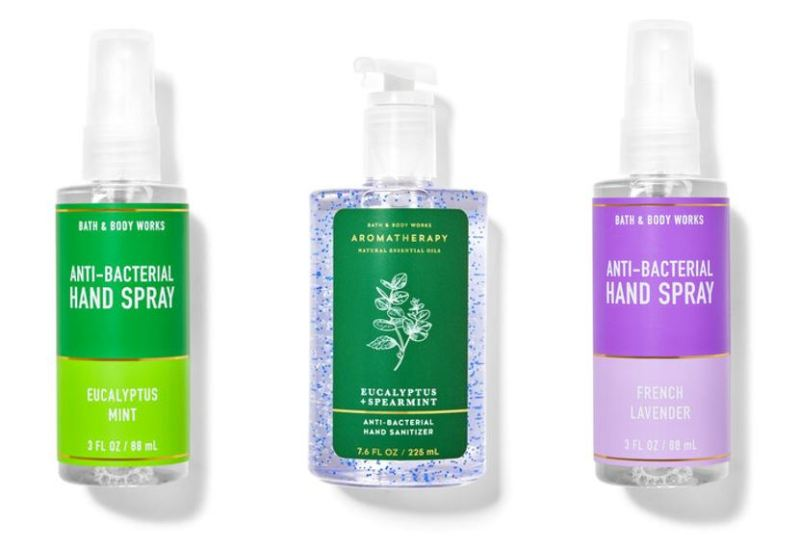 Buy Bath and Body Works Hand Sanitizers – Stress relief / Lavender Vanilla / Eucalyptus Mint Singapore