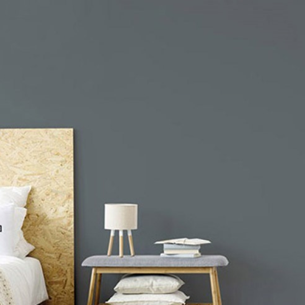 Gray Wallpaper Self Adhesive Wall Decoration Sticker