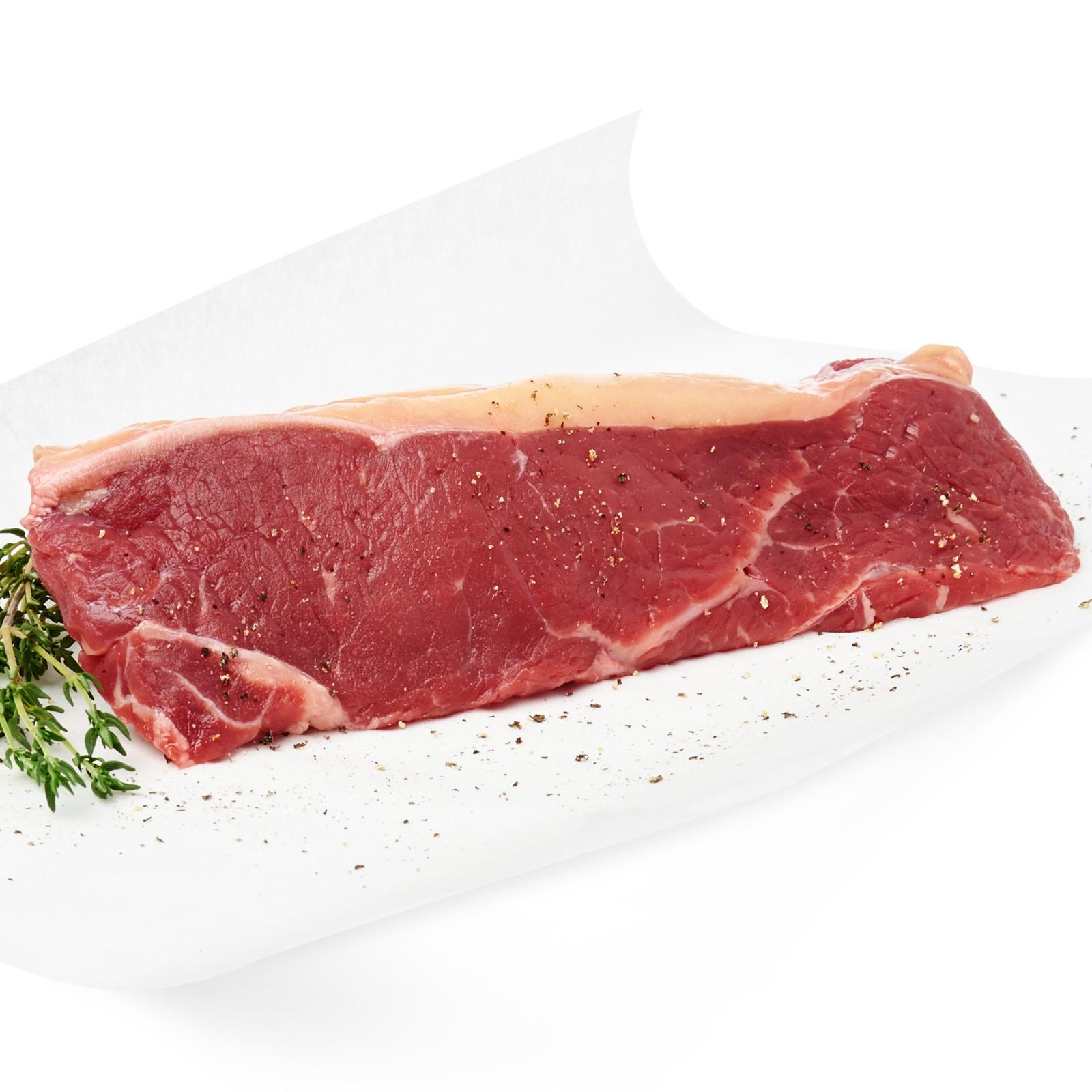 Zac Meat Grass Fed Angus Striploin - New Zealand By Redmart.