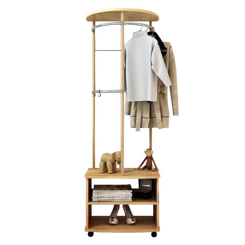 JIJI Dual Square Edge Modern Clothes Rack (LRCR - 08A) (Free Installation) - Closet Organiser / Coat Racks / Hallway Entry Furniture (SG)