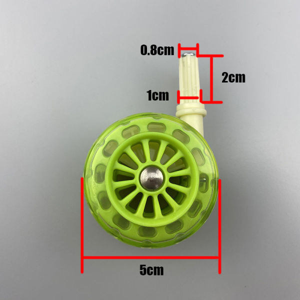 ❡✾ Original authentic little human walkers wheel congratulate antithetical couplet basic general mute wheel round wheels stroller accessories Singapore