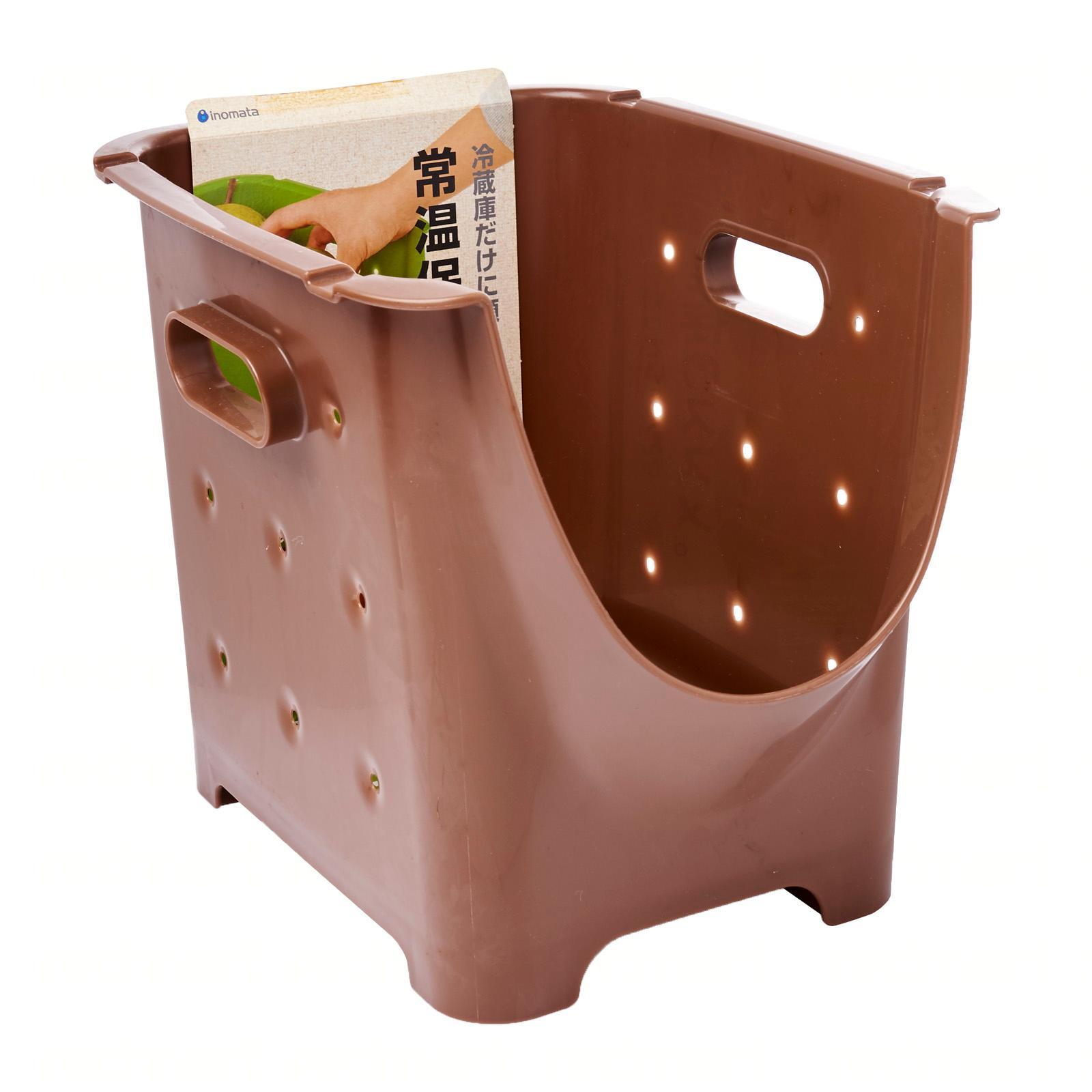 Vesta Vegetable Stocker (Brown) (21 X 29 X 23 CM)