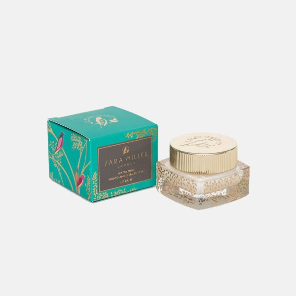 Buy Sara Miller London 18g Lip Balm - Water Mint, Mojito & Shea Butter (FG8518) Singapore