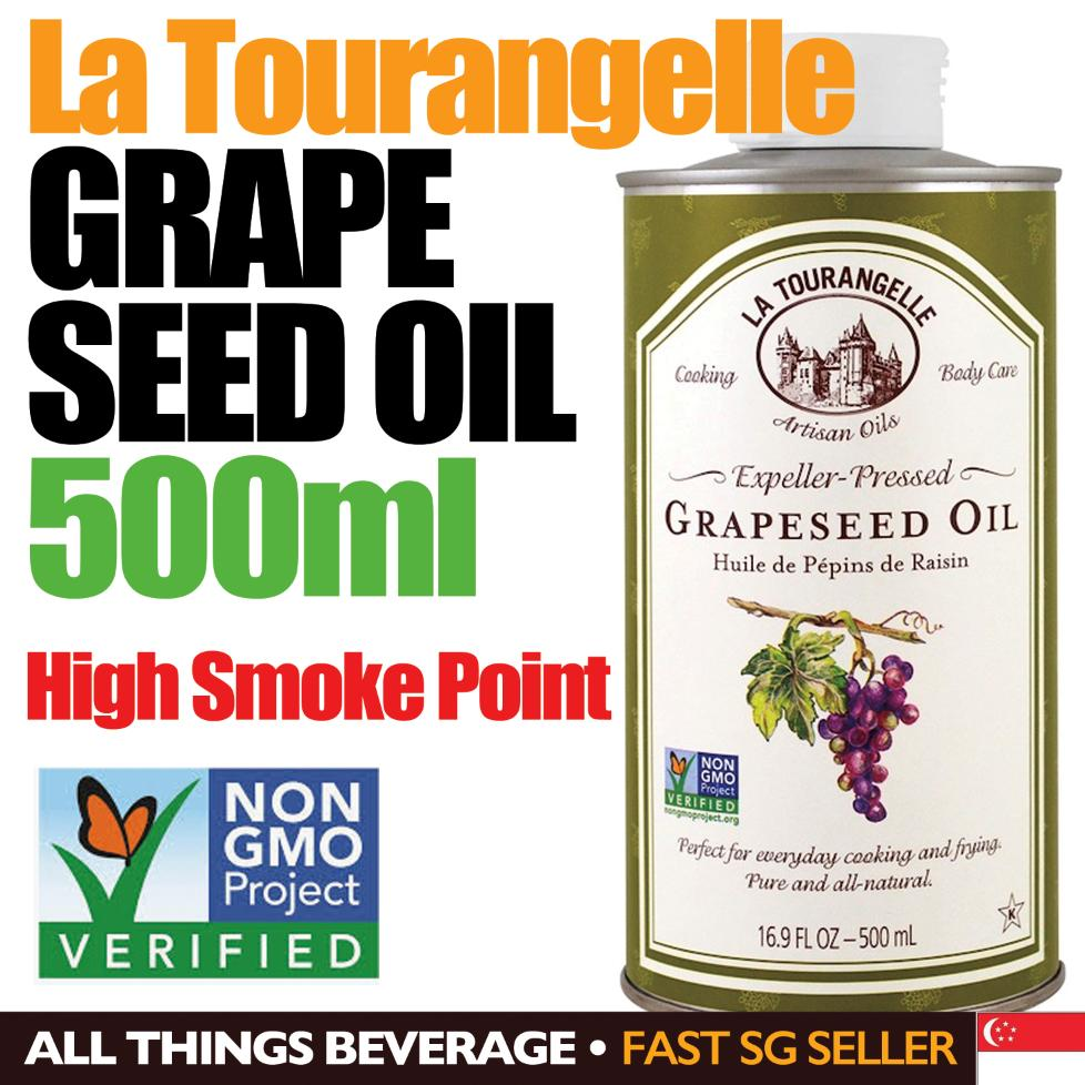 La Tourangelle Grapeseed Oil Non Gmo 500 Ml By All Things Beverage.