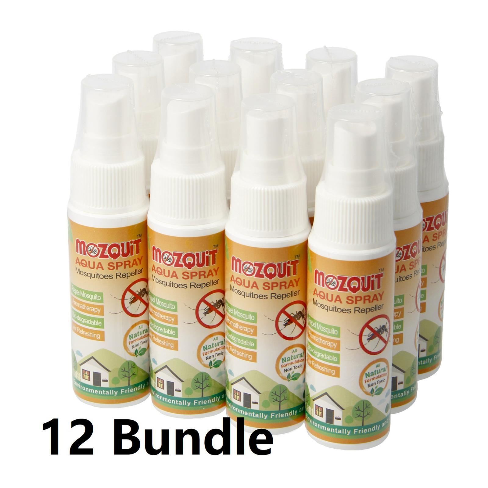 Mozquit Mosquito Repellent Aqua Spray (Bundle Of 12)