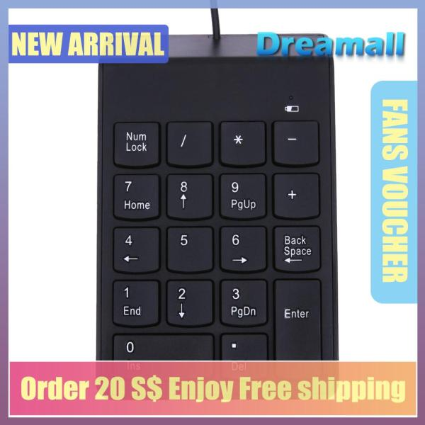 {Hot Sale Festival}Dreamall USB Mini 18-keys Num Pad Numeric Keyboard Note Singapore
