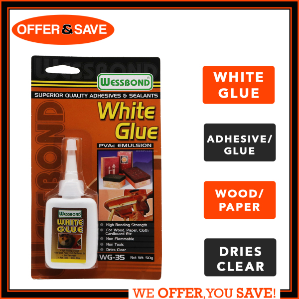 WESSBOND White Glue Adhesives 50G