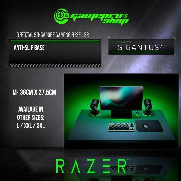 Razer Gigantus V2 - Soft Gaming Mouse Mat Medium - FRML Packaging - RZ02-03330200-R3M1