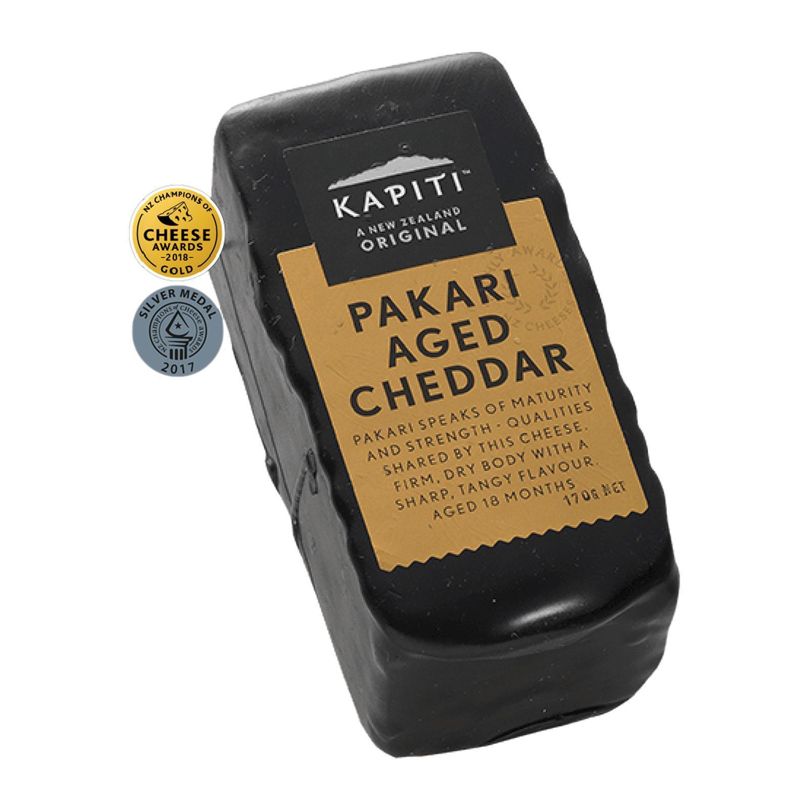 Kapiti Pakari Aged Cheddar - The Cellar Door