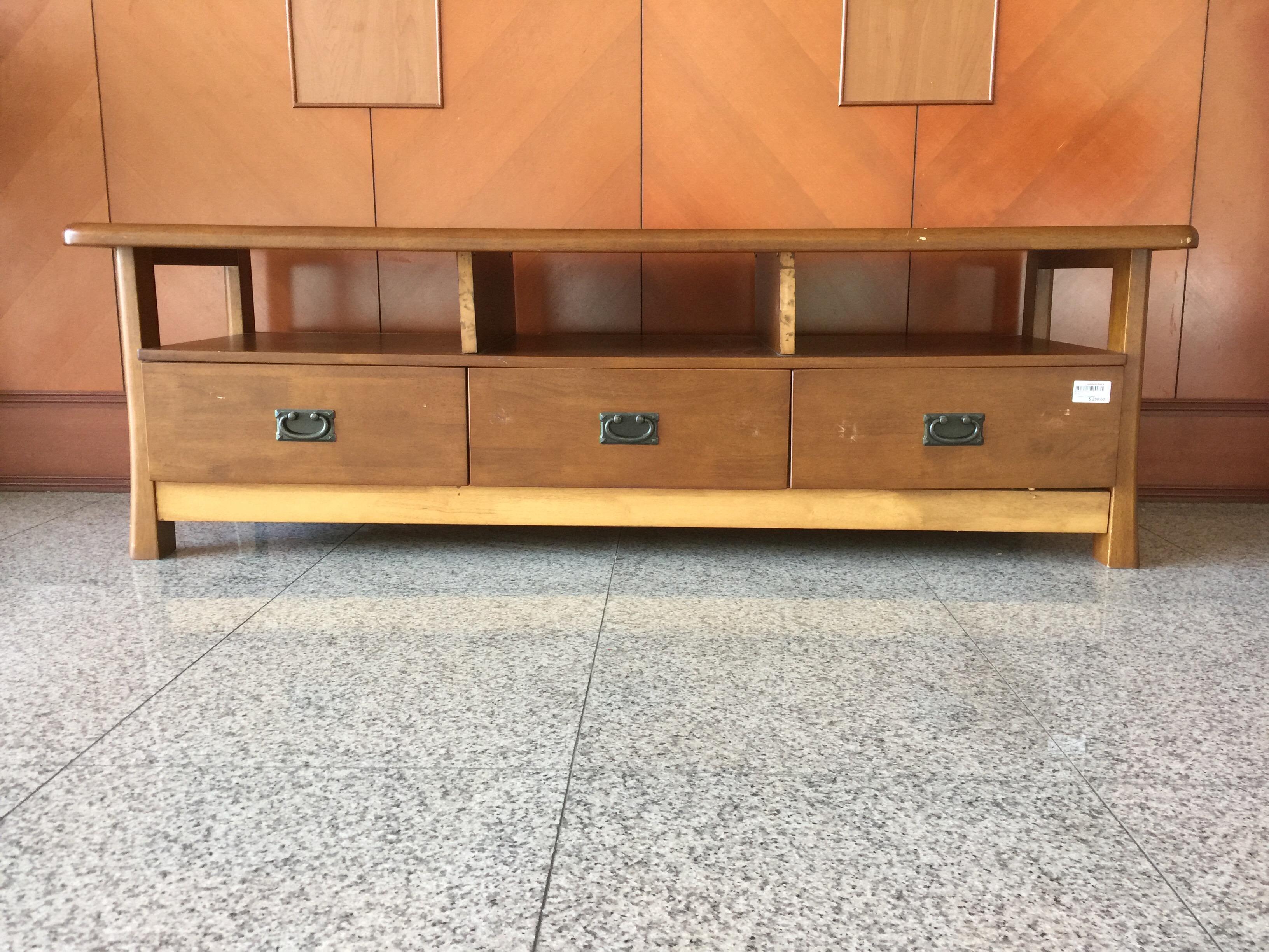 Media Console TV Cabinet