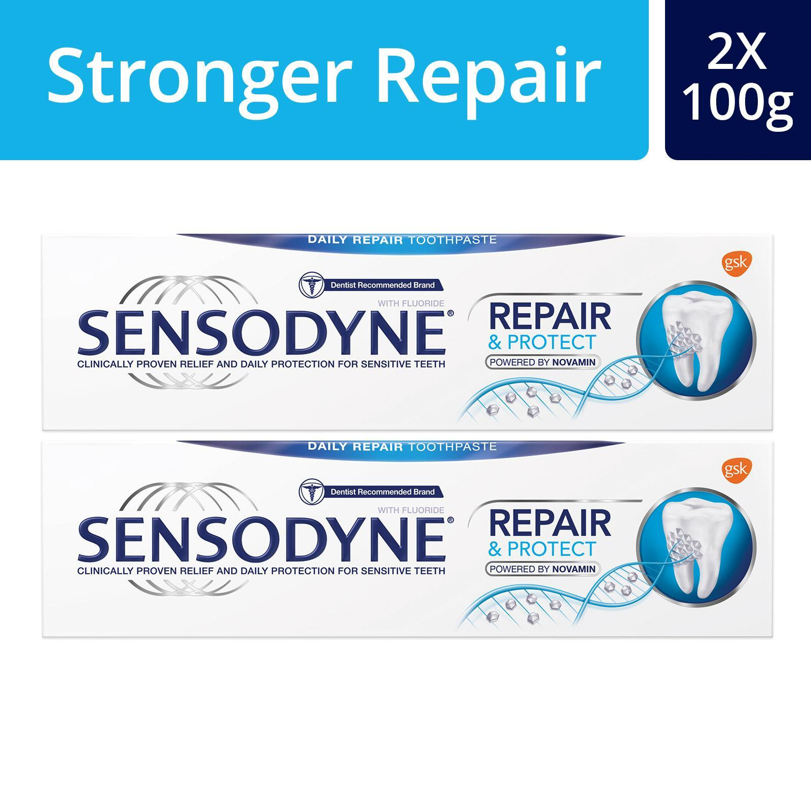 Sensodyne Repair + Protect (bundle Of 2x100g) By Gsk Official Store.