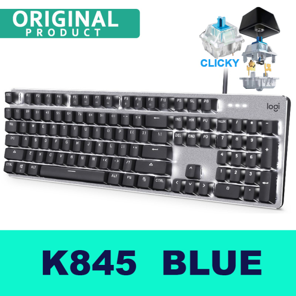 Logitech K845 Wired Gaming Mechanical Ergonomic Design Keyboard Backlight Gaming Keyboard For Computer Singapore