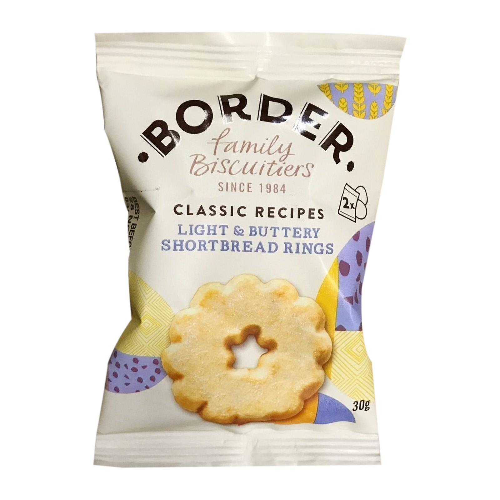 Border Biscuits Light And Buttery Shortbread Rings