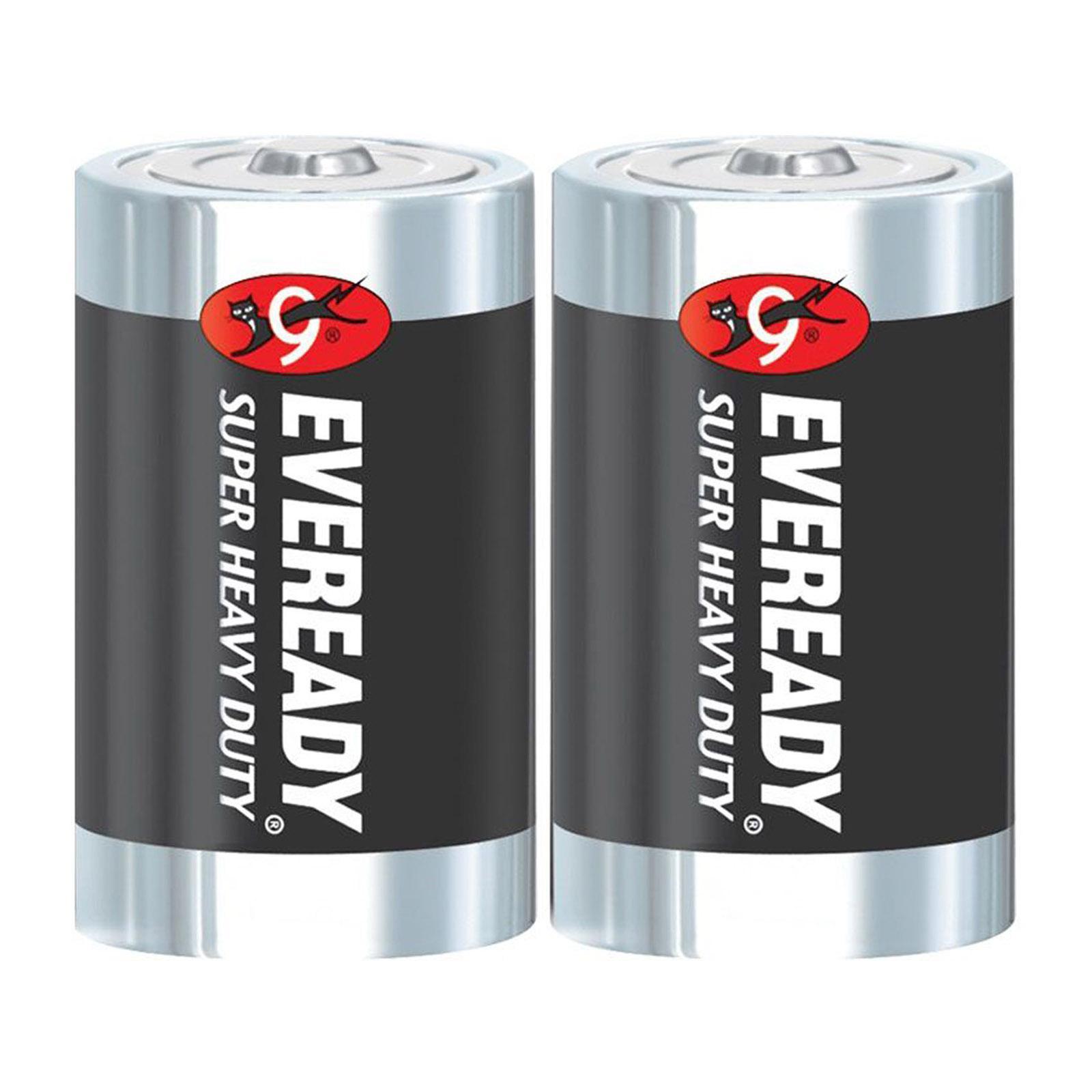 Eveready M1235 Sw2 Carbon Zinc Battery Super Heavy Duty Size:C (2Pcs/Pack)