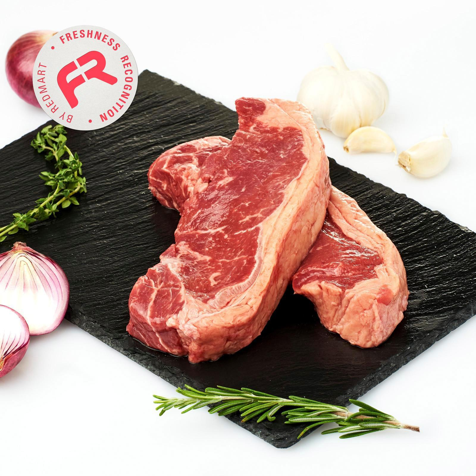 Redmart Grass Fed Angus Beef Sirloins (2 Pcs) - New Zealand By Redmart.