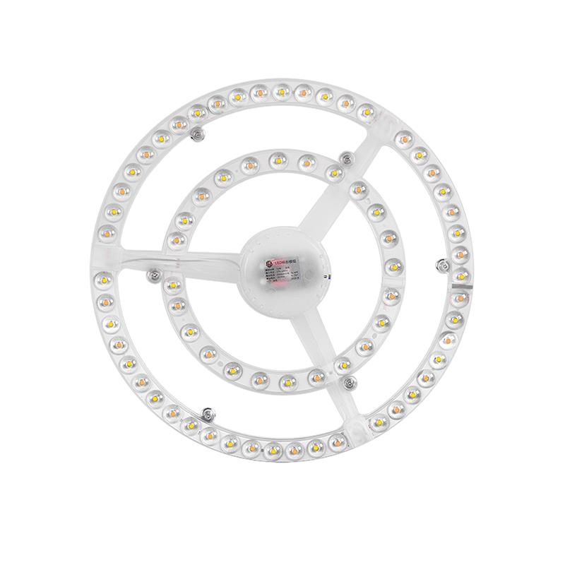 36W Replaceable LED Board, Triple Color, led ceiling light board,  Lens Light Beads, Replace Fluorescent Tube LED Light Ceiling Light Magnet Lamp