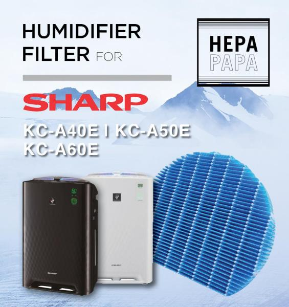Sharp KC-A40E/A50E/A60E/D40E-FZ-A60MFE Compatible Humidifier Filter Only [Free Alcohol Swab] [SG Seller] [7 Days Warranty] [HEPAPAPA] Singapore