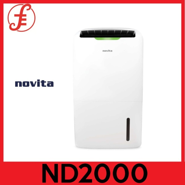 NOVITA ND2000 PuriDry™ 2-In-1 Dehumidifier ND2000 with HEPA Air Purification + FOC Filter Pack(2000 ND-2000) Singapore