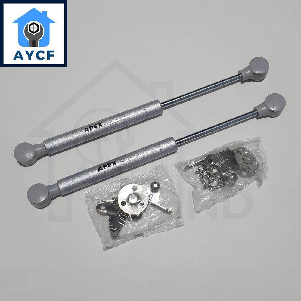 (BUNDLE OF 2) AYCF APEX Hydraulic Lift Support Spring for Kitchen / Cabinet / Door Hinges Gas Strut - 10kg