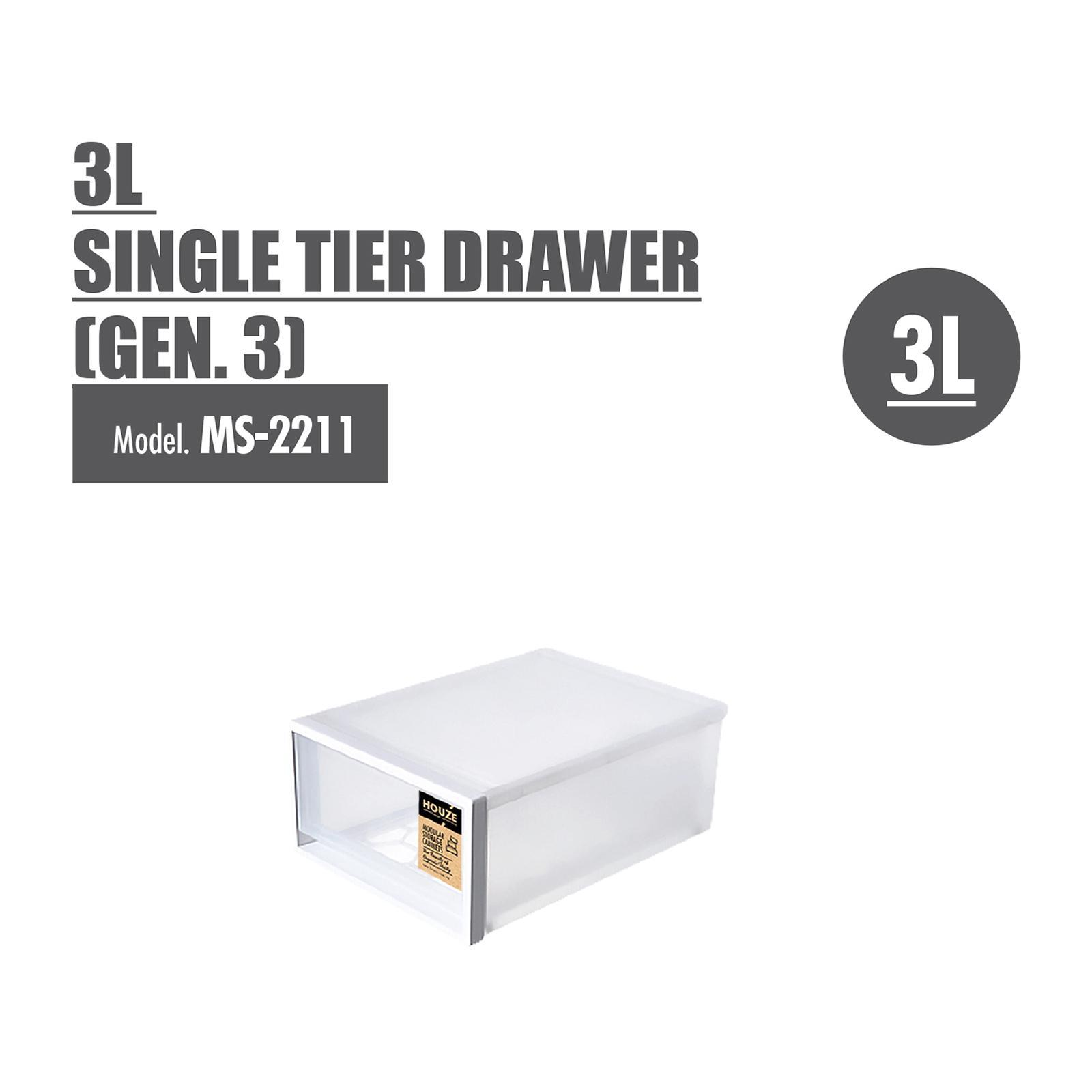 HOUZE 'XS' Size Single Tier Drawer