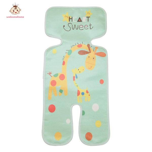 【welcomehome】Baby Stroller Cool Mat Newborn Infant Kids Cart Seat Ice Silk Cushion Pads Singapore