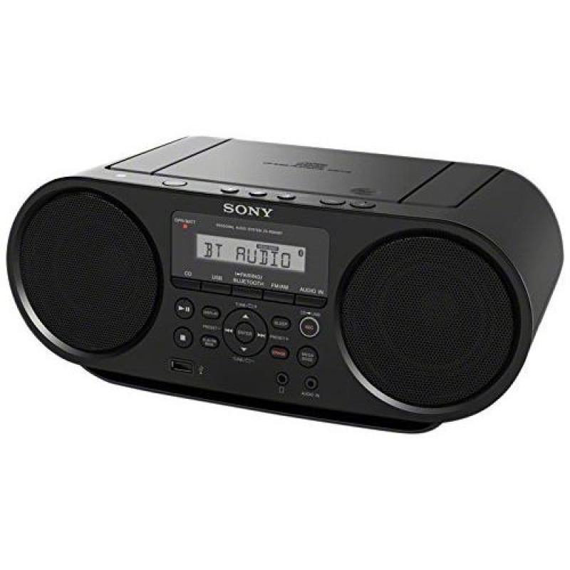 Sony Portable Bluetooth Digital Turner AM/FM CD Player Mega Bass Reflex Stereo Sound System Singapore