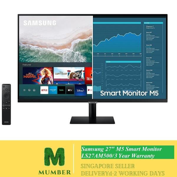 Samsung 27 M5 Smart Monitor LS27AM500/3 Years Warranty