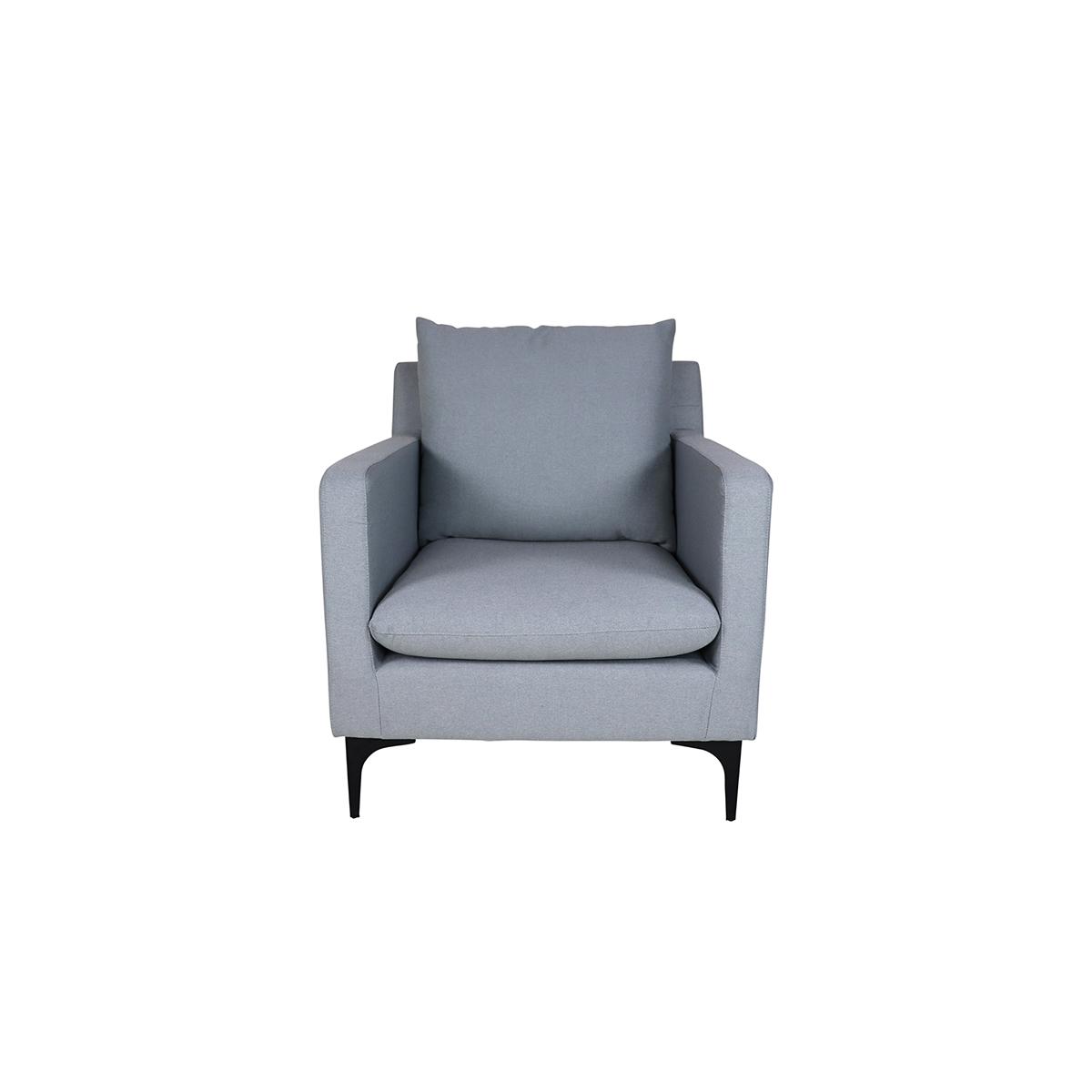 Hayley Armchair, Light Grey