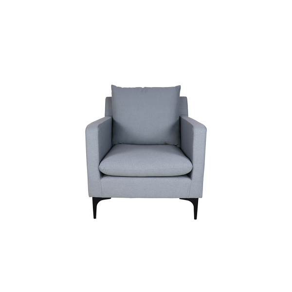Hayley Armchair, Light Grey
