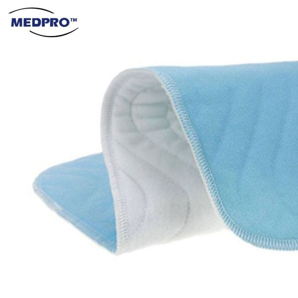 Buy MEDPRO™ Reusable Washable Laminated Incontinence Bed Pad for Patients/ Elderly/ Children Singapore