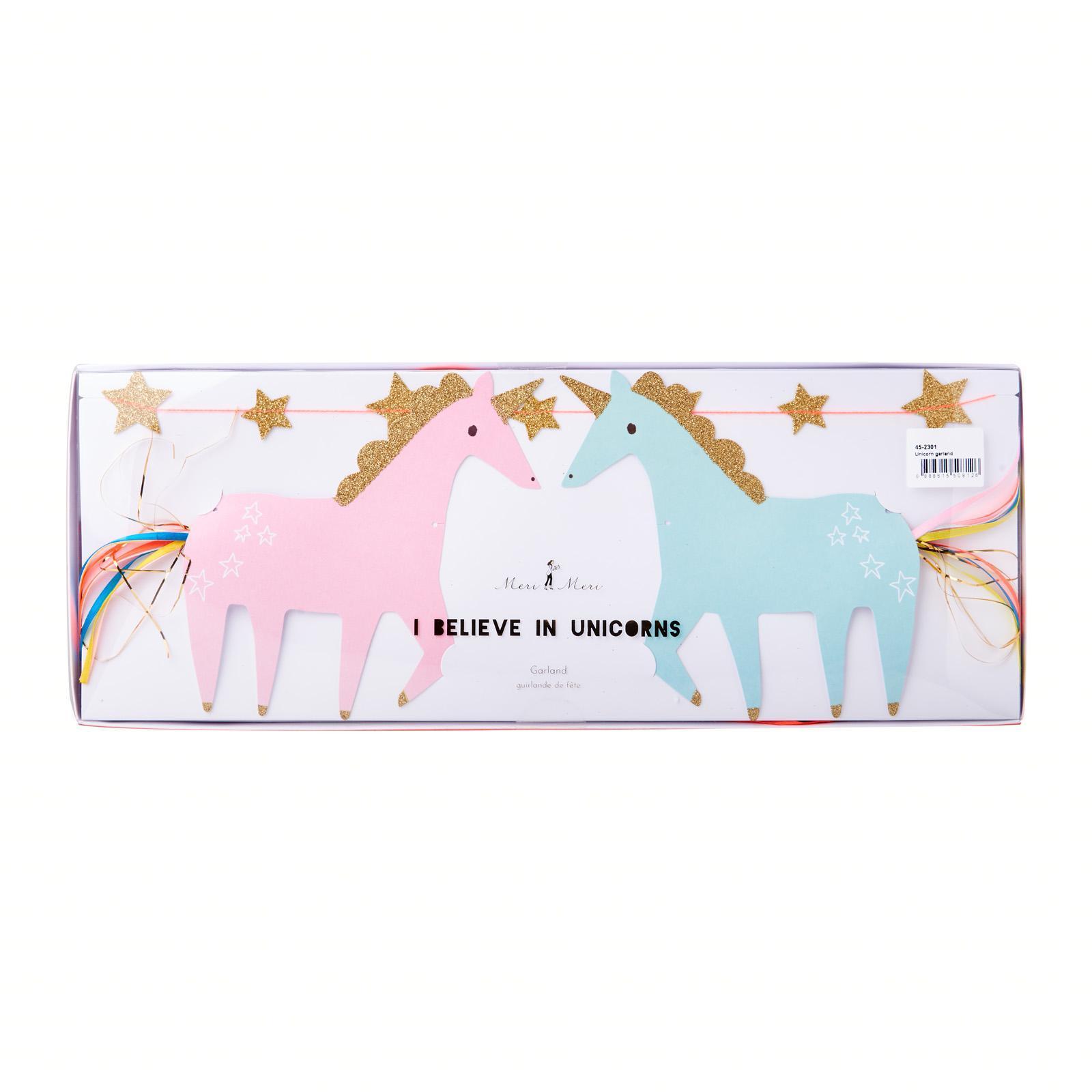 Meri Meri Garland I Believe In Unicorns - By ToTT