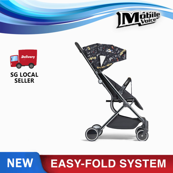 (New Launch) Easy-Fold Baby Stroller with Lightweight Design with Foldable Shade Singapore