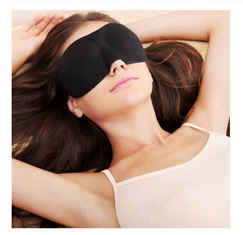 2 Packs Natural Sleep Mask Sleeping Eye Mask  Soft Comfortable Breathable Eyeshade   Travel Blindfold Sleeping Mask.