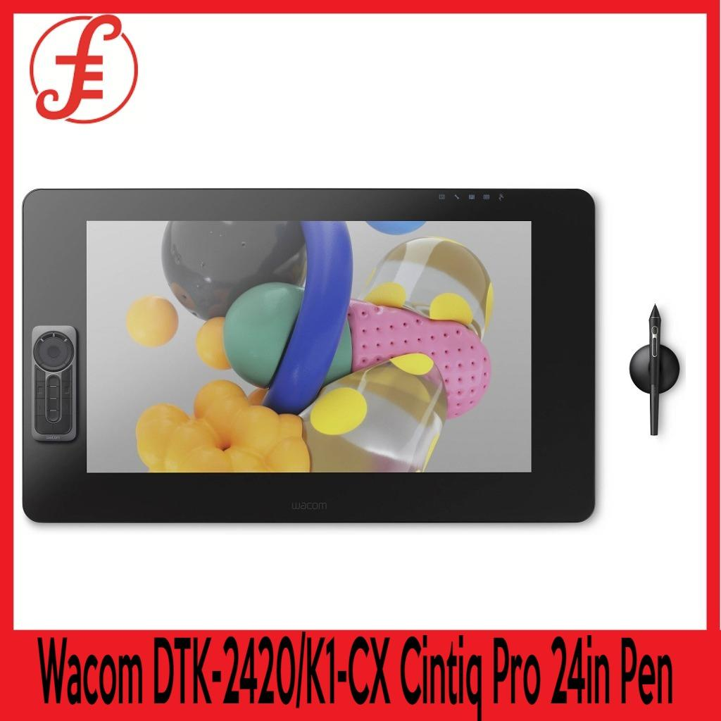 Wacom DTK-2420/K1-CX Cintiq Pro 24in Pen Create directly on screen with our most natural pen experience FREE SAMSUNG ESSENTIAL WIRELESS BLUETOOTH HEADSET WHILE STOCKS LAST (DTK-2420/K1-CX )