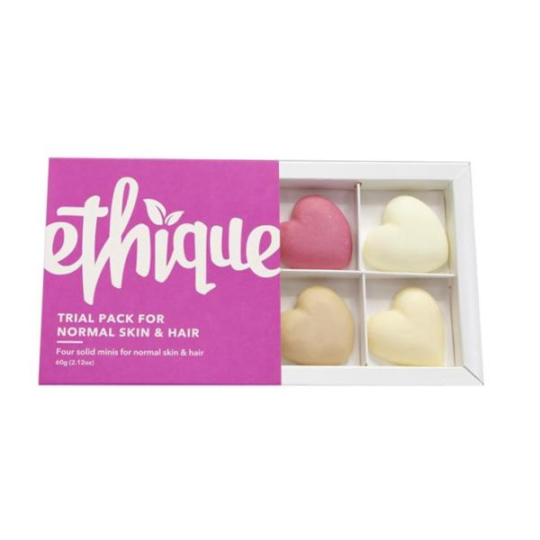 Buy Ethique Hair, Face & Body Trial Pack - Normal Skin & Hair Types Singapore
