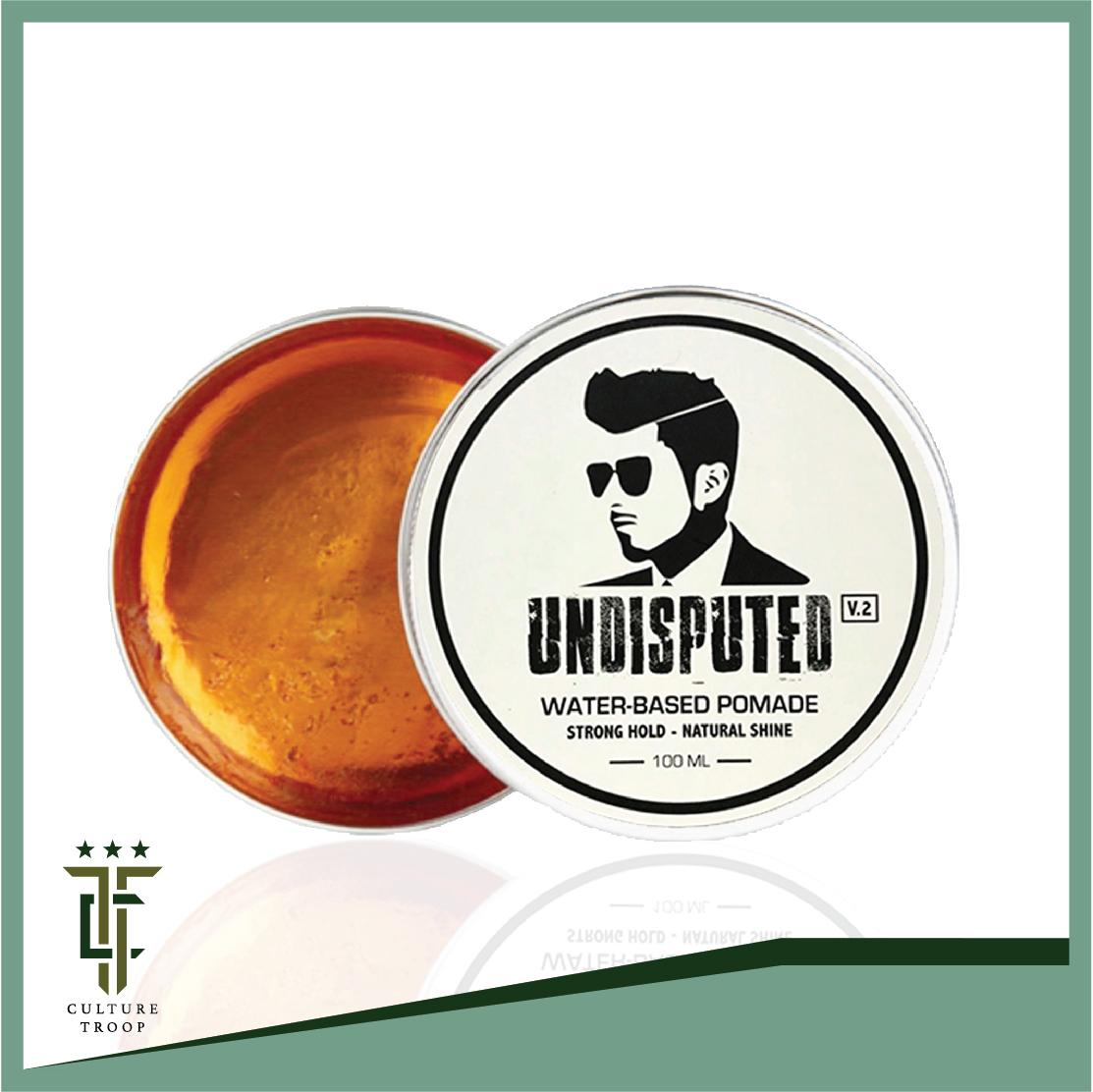[free Shipping] Undisputed Pomade V2 Strong Hold Slim Design Water Solutble By Culture.troop.