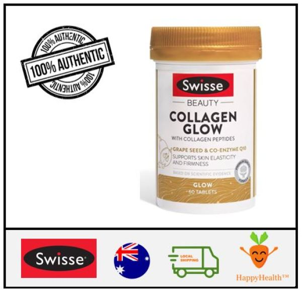 Buy [HappyHealth] -Swisse Beauty Collagen Glow With Collagen Peptides 60 Tablets Singapore