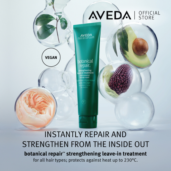 Buy [Exclusive Offer] AVEDA Botanical Repair Strengthening Leave-in Treatment Duo (2x100ml) + Strengthening Shampoo 50ml + Strengthening Masque Light 25ml Singapore