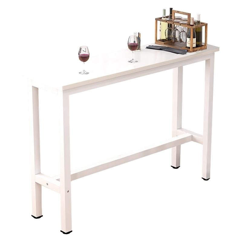 JIJI Longines Dining Bar Table with Leg Rest (Tables Only) (Free Installation & 6 Month Warranty) - Bar Dining Furniture / Tables / Sets (SG)