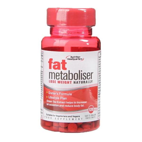 Buy Nutritional Headquarters Fat Metaboliser 120 Tablets Singapore